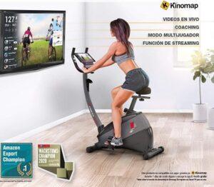 comprar bicicleta estatica con pantalla precio barato online