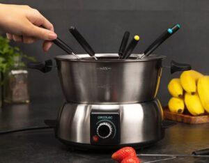comprar fondue electrica cecotec precio barato online