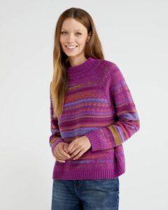 comprar jersey cuello alto mujer benetton precio barato online