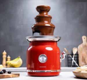 comprar fuente de chocolate cecotec precio barato online